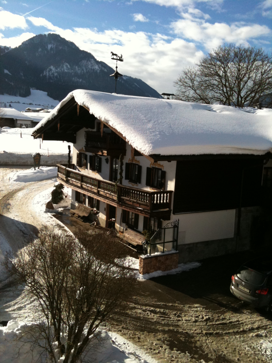 What we can see from our apartment in Ruhpolding