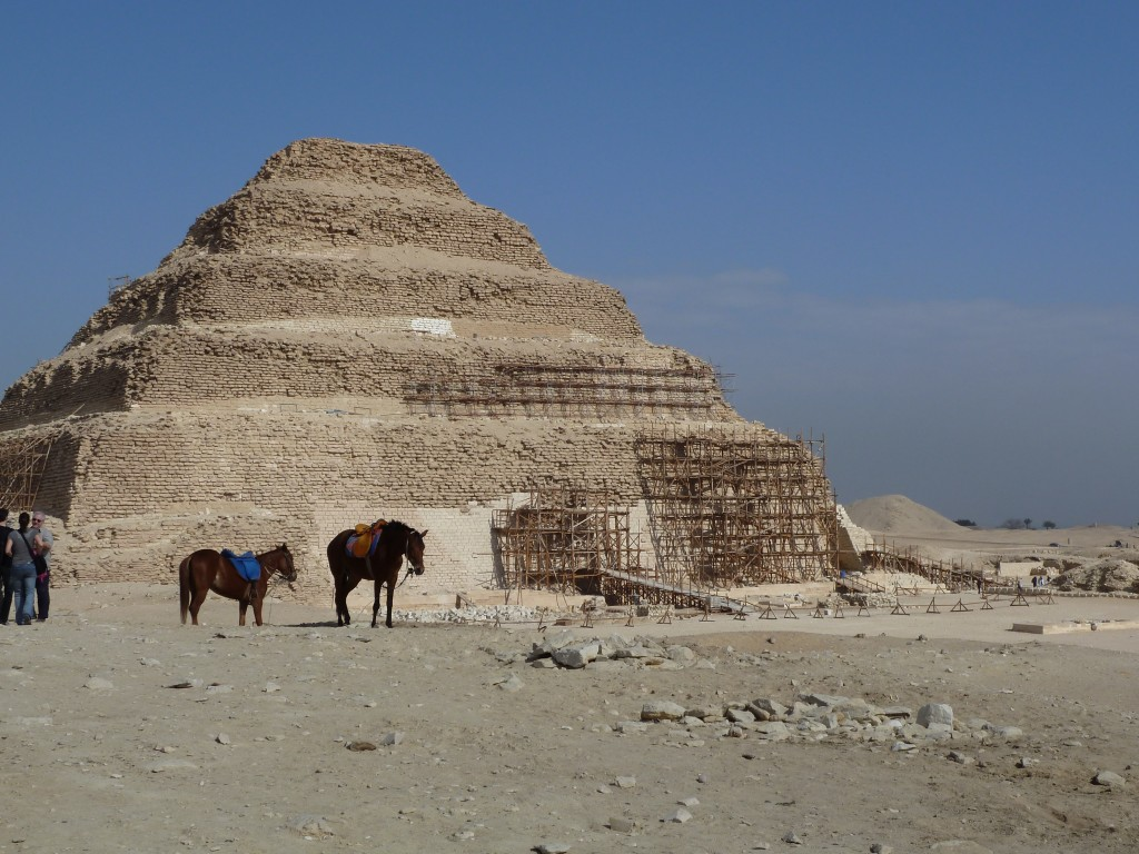 Djozer's step pyramid