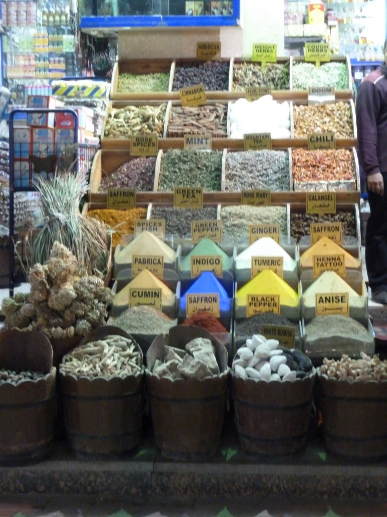 Spices in Aswan markets