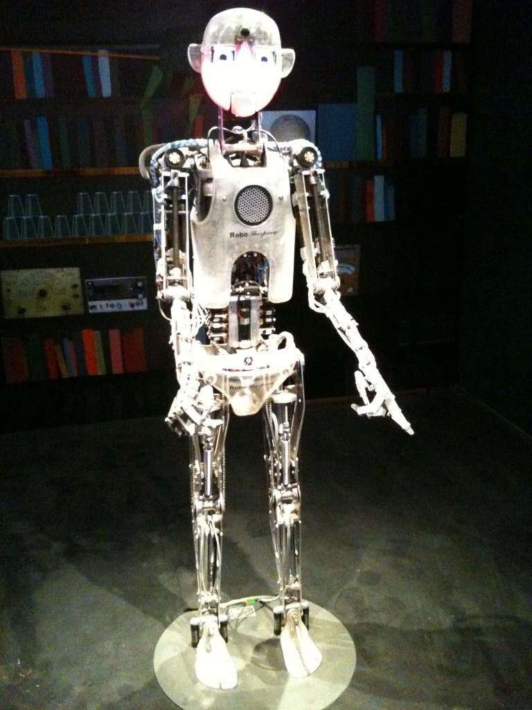 Robot exhibit at Haifa