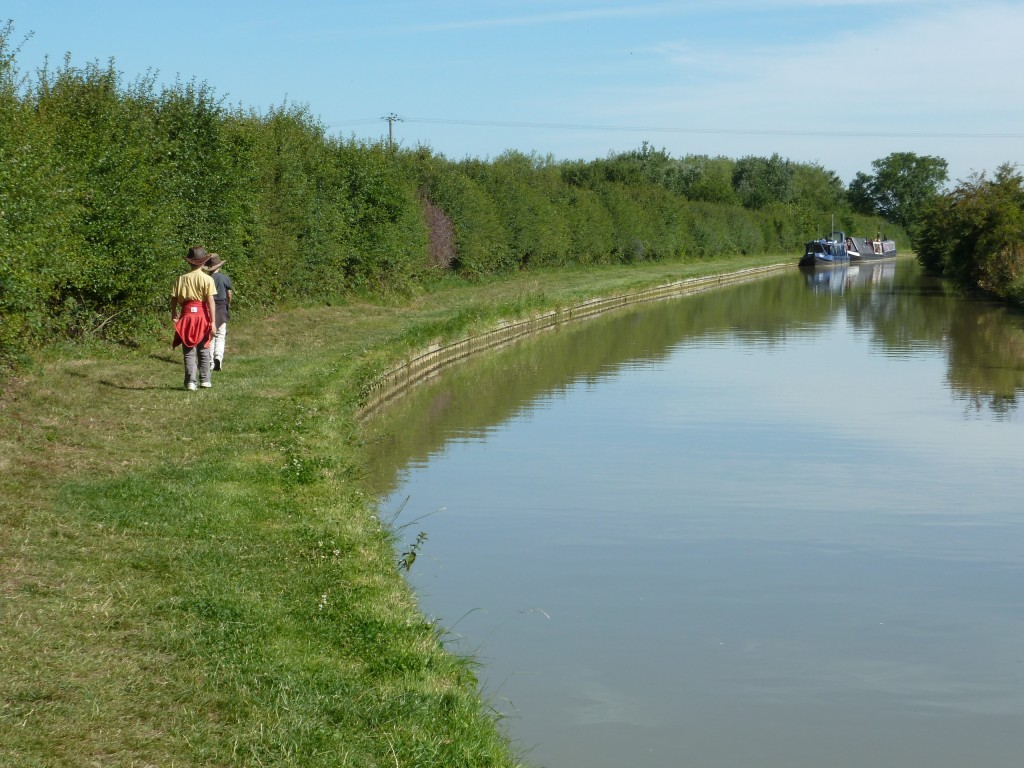 This towpath used to have horses, not children