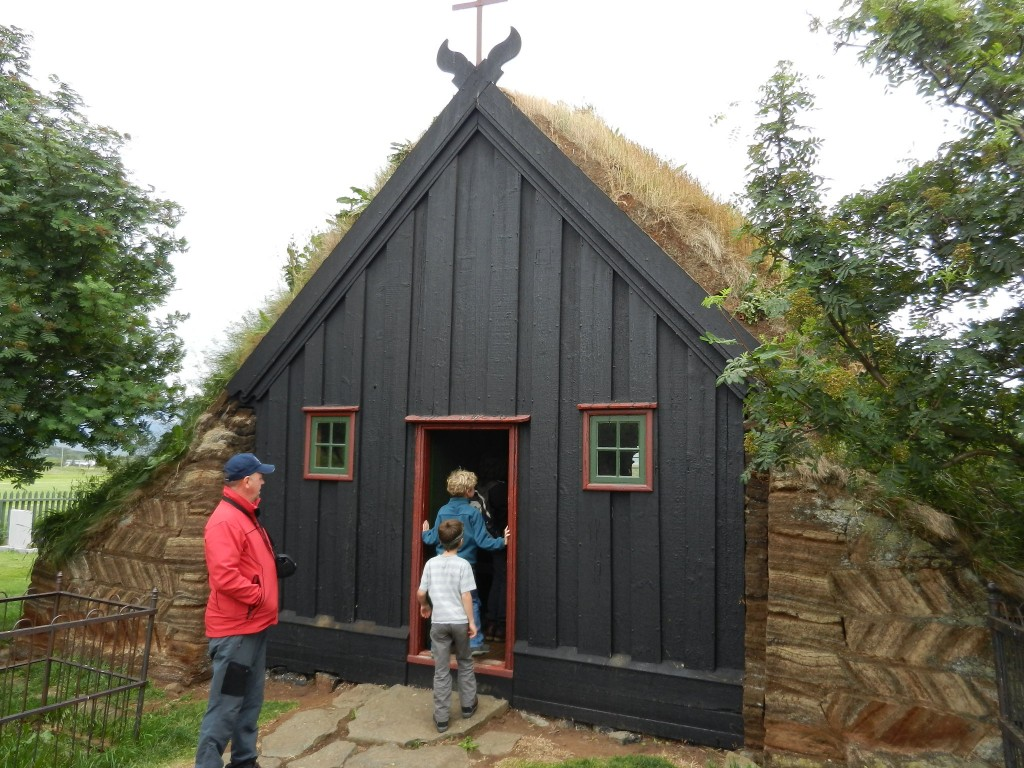 Turf church