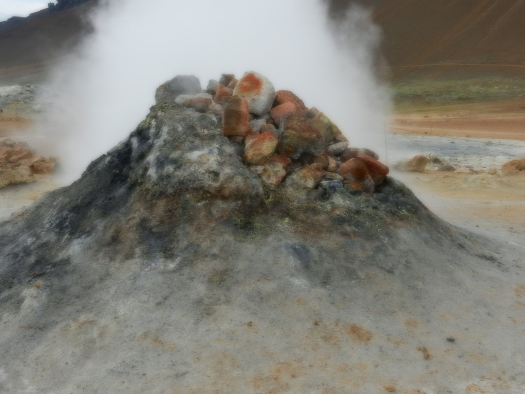 More geothermal activity