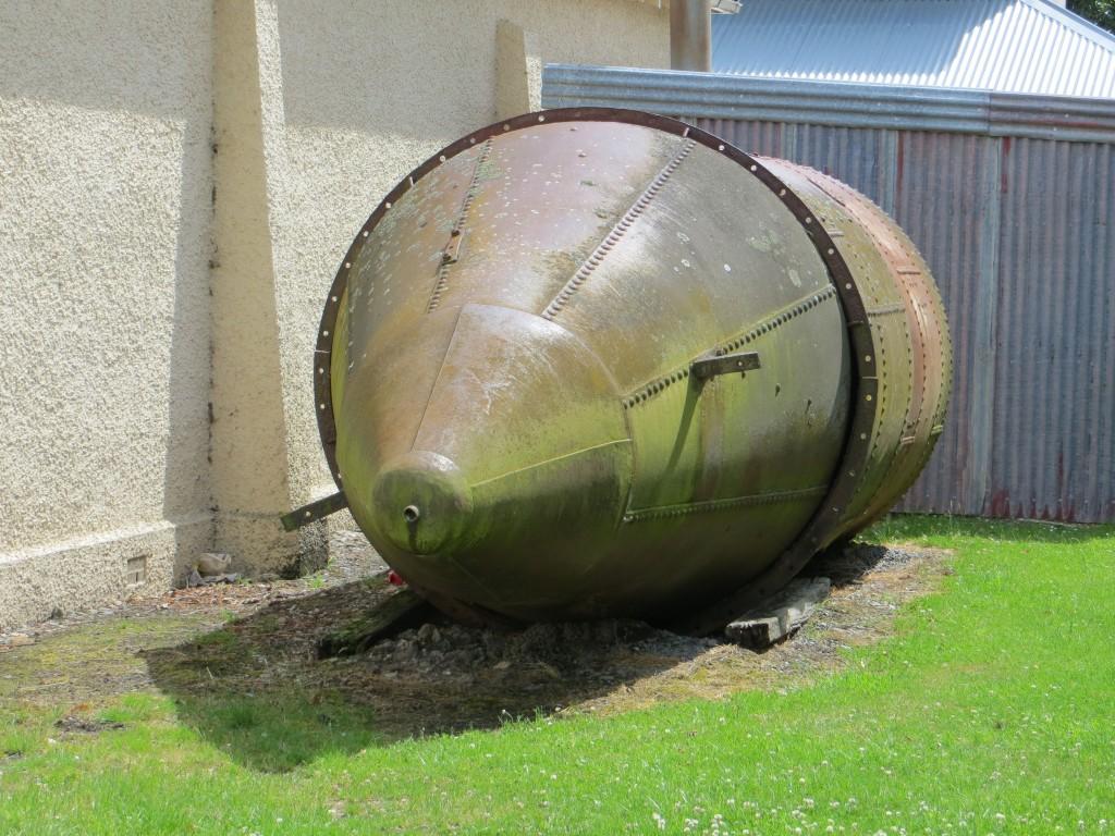Gold mining submarine.