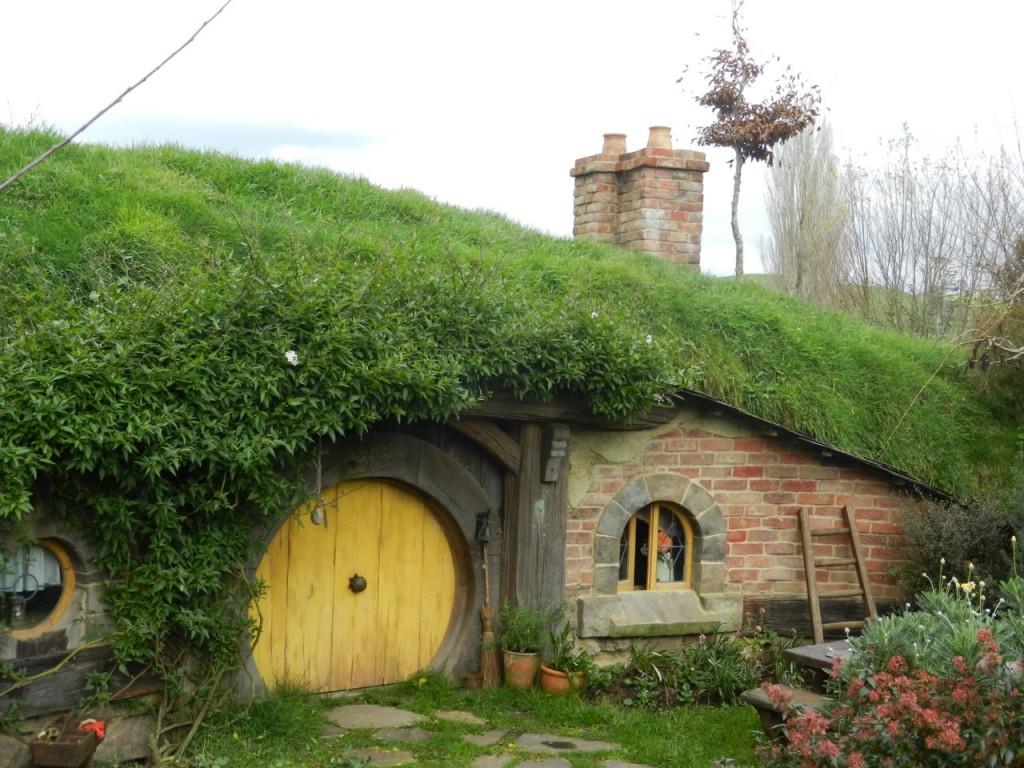 A hobbit hole.