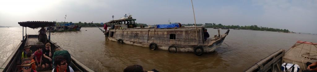 Riverboat panorama.