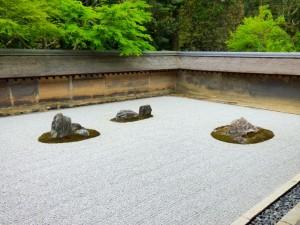 600 year-old rock garden.