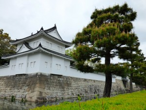 Kyoto Castle walls.