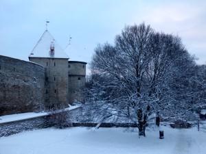 Tallinn's walls.