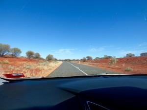 Alice to Uluru roadtrip.