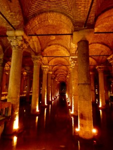 The cistern.