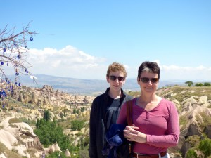 Cappadocia looking back to Goreme.
