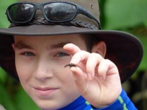 Declan - crab hunter.